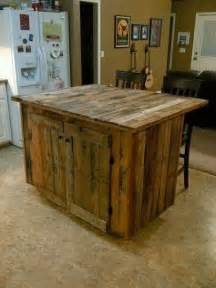 Reclaimed Kitchen Island Reclaimed Wood Kitchen Island Pallets