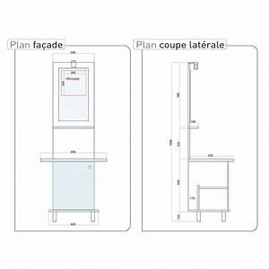 davausnet hauteur miroir salle de bain avec des idees With meuble hauteur salle de bain