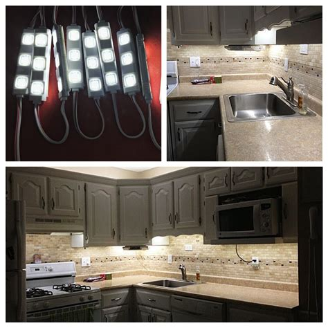 5ft 30leds White Closet Kitchen Under Cabinet Counter Led