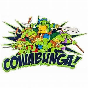 Teenage Mutant Ninja Turtles Cowabunga! Embossed Tin Sign