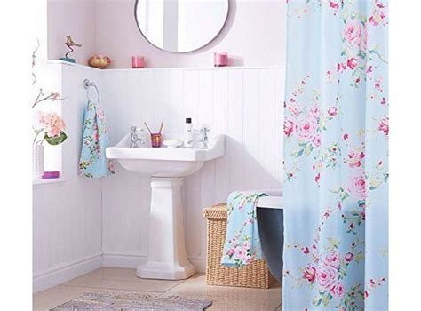 shabby chic curtains uk top 28 shabby chic shower curtains uk simply shabby chic toile shower curtain pink amazon