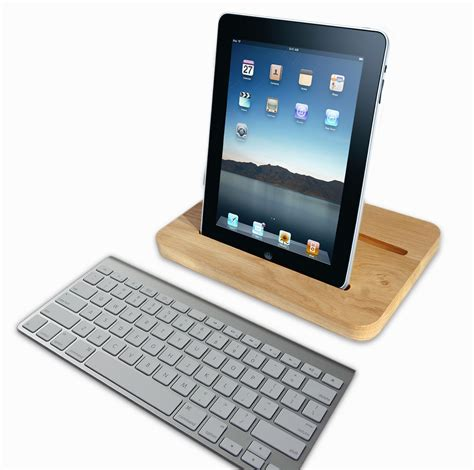 support tablette tactile cuisine support pour en bois woodock