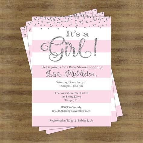 girl baby shower invitation girl baby shower invitation