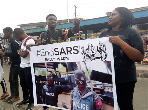 Daily Trust - Naira Marley cancels #EndSARS protest