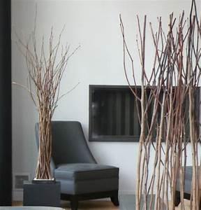 Branche De Bois Deco : bouquet branches bois flott d co loft ~ Teatrodelosmanantiales.com Idées de Décoration