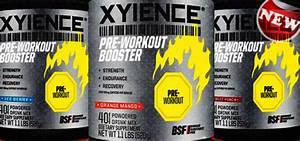 New Xyience Pre-workout Booster Review