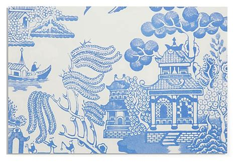 blue willow paper placemats home decor pinterest