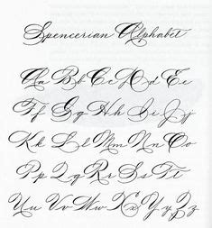 signature images handwriting fonts charts fonts