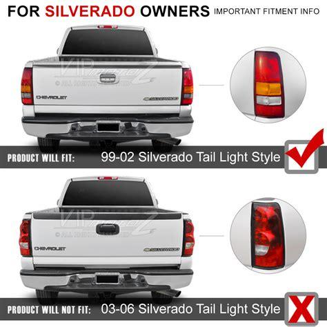 97 gmc sierra tail lights chevy silverado 99 2002 gmc sierra truck smoked ultra