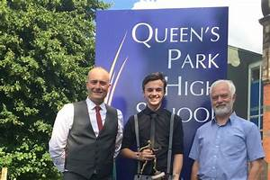 Queen's Park High School student given Michael Ord award ...