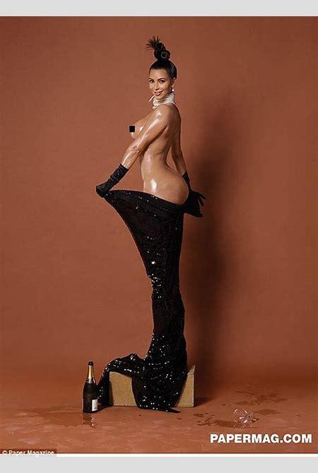 Kim Kardashian's nude photos 'ARE art', says Jean-Paul Goude   Daily Mail Online