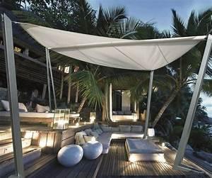 Plantes D Extérieur Pour Terrasse : protection solaire 55 id es pour la terrasse ext rieur ~ Dailycaller-alerts.com Idées de Décoration