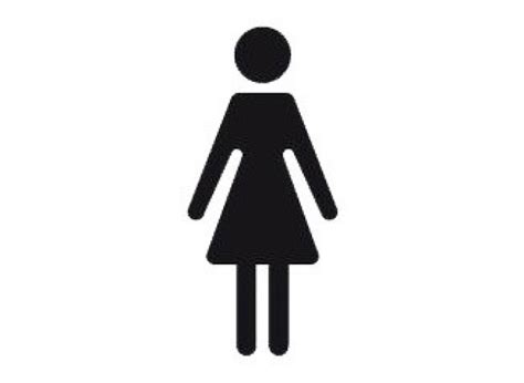 femme au toilette photo image logo femme