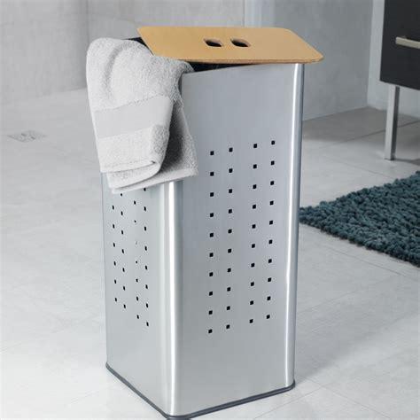 panier 224 linge inox panier 224 linge et corbeille accessoires salle de bains salle de bains