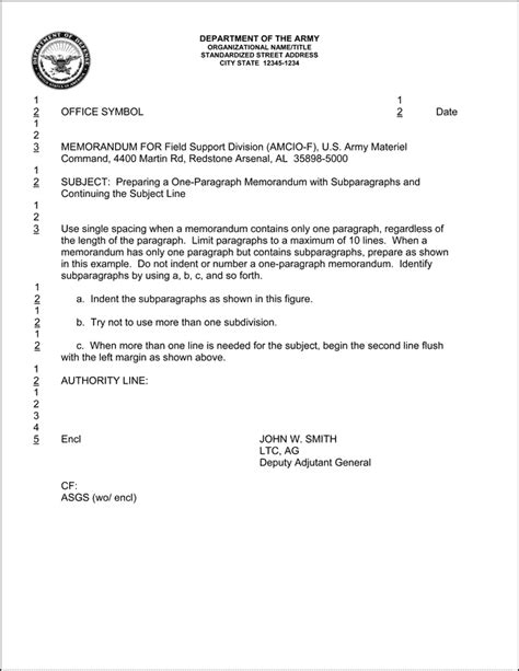 Us Army Memorandum For Record Template by Memorandum For Record Army Fillable Best Template