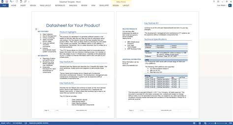 datasheet templates   ms word templates forms