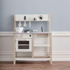 Cuisine Enfant En Bois : cuisine pour enfant en bois gris et blanc kid s concept decoclico ~ Teatrodelosmanantiales.com Idées de Décoration