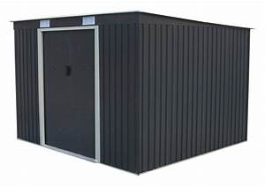 Amazon Abri De Jardin Metal : abri de jardin en m tal adossable 6 5 m gris anthracite ~ Edinachiropracticcenter.com Idées de Décoration