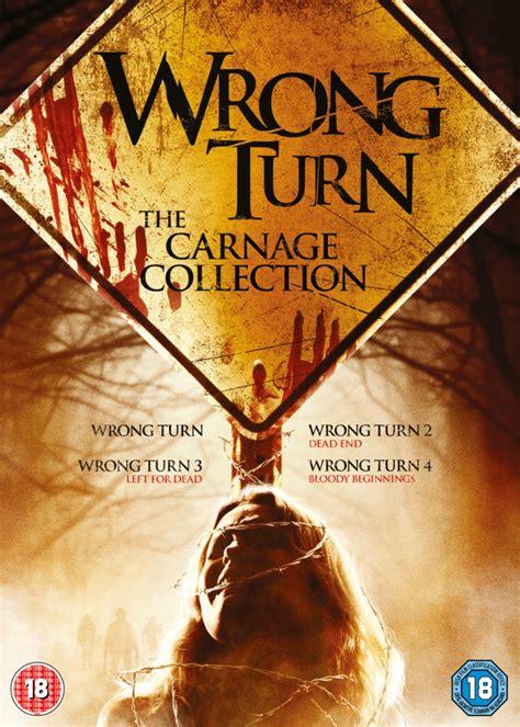 wrong turn   dvd zavvi