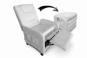 fauteuil blanc relaxant pas cher With tapis berbere avec canapé convertible avec repose tete