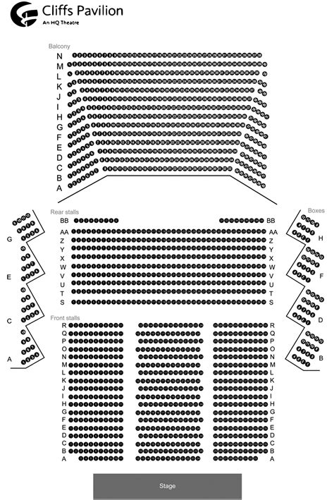 westchester broadway theatre seating chart seating chart mahaffey theater seating chart the mahaffey theater st