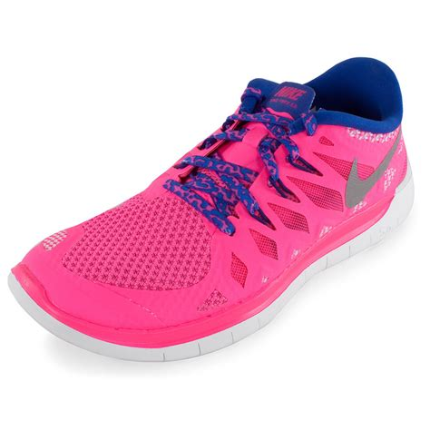 nike grils nike free 5 0 running shoes hyper pink and royal