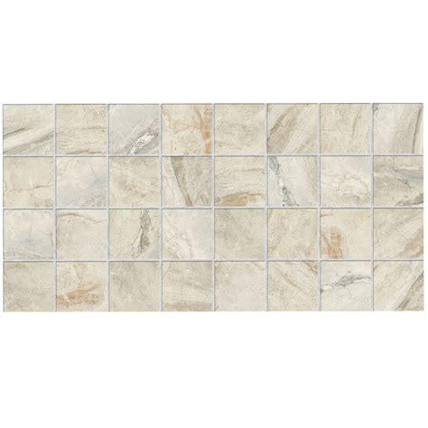 American Olean Ceramic Mosaic Tile by Shop American Olean Danya 12 Pack Squares