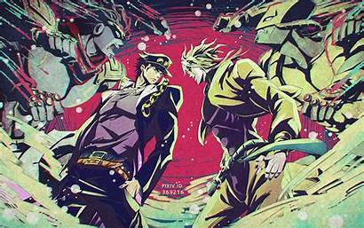 Jojo Stardust Bizarre Adventure Crusaders Resolution Anime