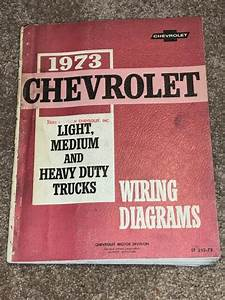 1973 Gmc Chevy Truck Wiring Diagrams Shop Service Manual