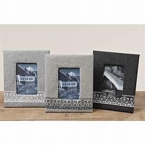 Rahmen Mit Stoff Beziehen : rahmen bilderrahmen stoff nordisch grau f r 9x13cm 018454 ~ Markanthonyermac.com Haus und Dekorationen