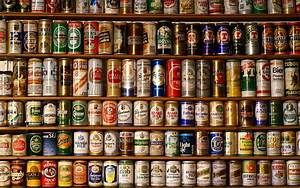 Beers water old liquid alcohol heineken courage tin poland ...