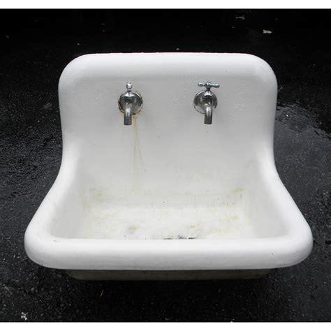 vintage porcelain kitchen sink antique utility sink 6857