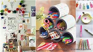 31 Super Useful DIY Desk Decor Ideas to Follow