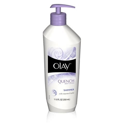 scrubs for olay quench lotion shimmer