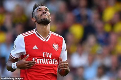 Pierre-Emerick Aubameyang blasts his Arsenal side's ...