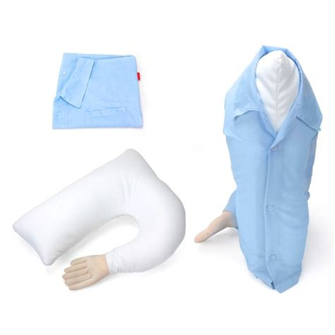 Hugging Pillow by Boyfriend Arm Hugging Pillow Washable Blue Buy Pillows