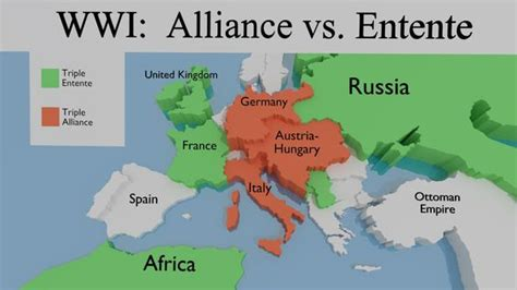 Ottoman Empire Italy by Alliances Ww1 This Map Shows The Alliances During World