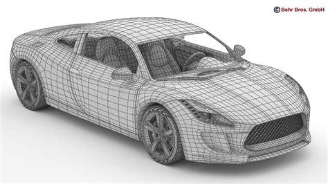 Models Sports Car by Generic Sports Car Flatpyramid