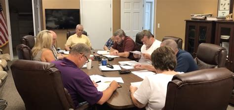 special called meeting gordonsville city council