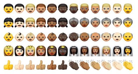 Apple Adds 300 Racially Diverse Emojis To Ios 8.3