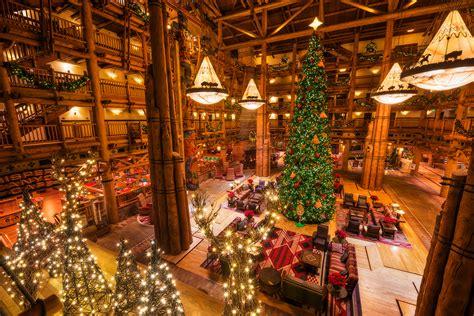 disney world resort christmas decorations tour disney