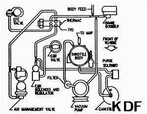 I Need A Vacuum Line Diagram For A 1999 Cadllac Deville