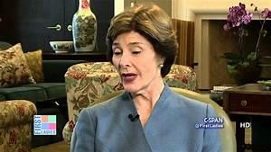 Laura Bush on First Lady Salary (C-SPAN) - YouTube