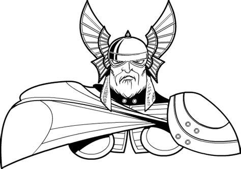sod vector thor heromachine character portrait creator