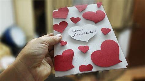 anniversary handmade card designs   anniversary