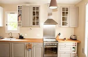 Cuisine Beige Et Taupe. cuisine taupe quelle couleur pour les murs ...