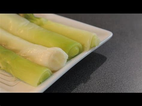 cuisiner poireaux comment cuisiner poireaux