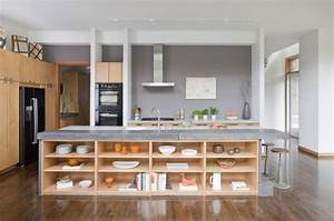 125 awesome kitchen island design ideas digsdigs for Kitchen colors with white cabinets with framed wall art set of 3