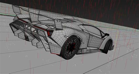 100 Lamborghini Veneno Sketch Filippo Perini Brand
