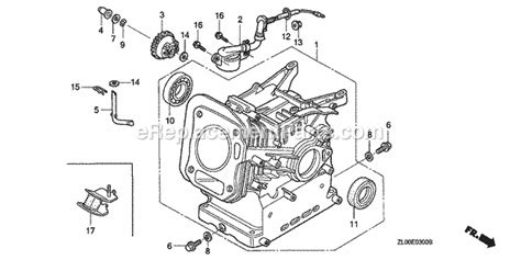 honda gx parts list  diagram type smvin gcae